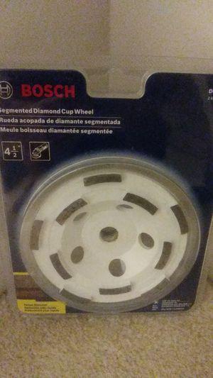 Bosch diamond cup wheel, New for Sale in Vienna, VA