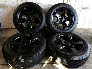 """20"""" Chevy Tahoe Suburban Silverado FACTORY BLACK Wheels Rims Tires 275/55/20 for Sale in Santa Ana, CA"""