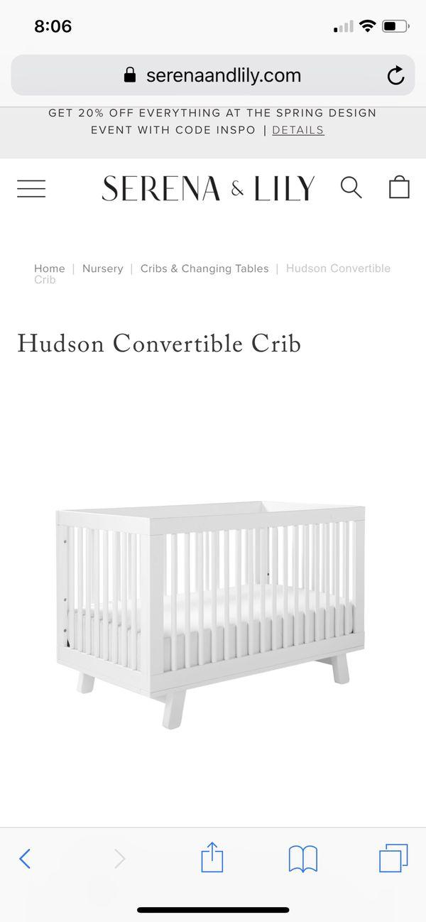 Hudson 3-in 1 crib