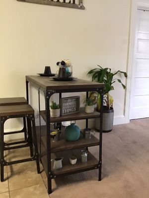 Industrial 2 sit Pub table for Sale in Portsmouth, VA