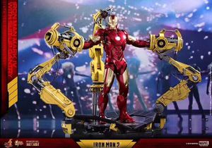 Hot Toys MMS462D22 Iron Man Mark IV 4 Diecast W/ Suit-up Gantry 1/6 Set for Sale in Boston, MA