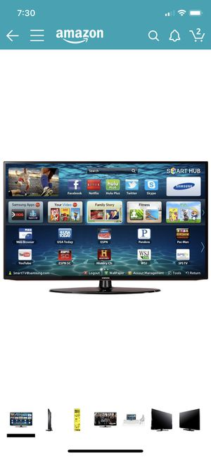 """Samsung Smart TV 40"""" series 5 5201 for Sale in Bothell, WA"""