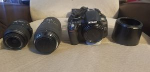 Nikon d3100 with extras for Sale in Huntertown, IN