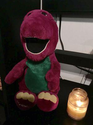 Large dinosaur Barney toy for Sale in Jacksonville, FL