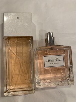 Coco Chanel 100ml & Dior 100ml for Sale in SeaTac, WA