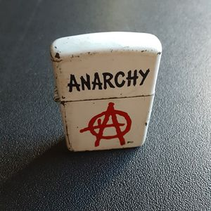 Vintage Anarchy Zippo from the 1990's for Sale in Long Beach, CA
