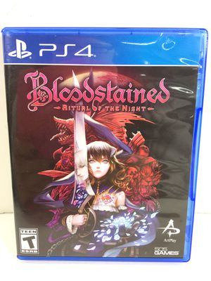 PS4 Bloodstained Ritual of the Night Video Game for Sale in Kent, WA