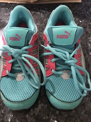 Puma Shoes for Girls, Size 4 for Sale in Rockville, MD
