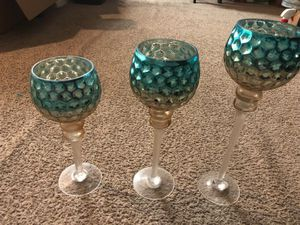 Home decor turquoise gold for Sale in Deerfield Beach, FL