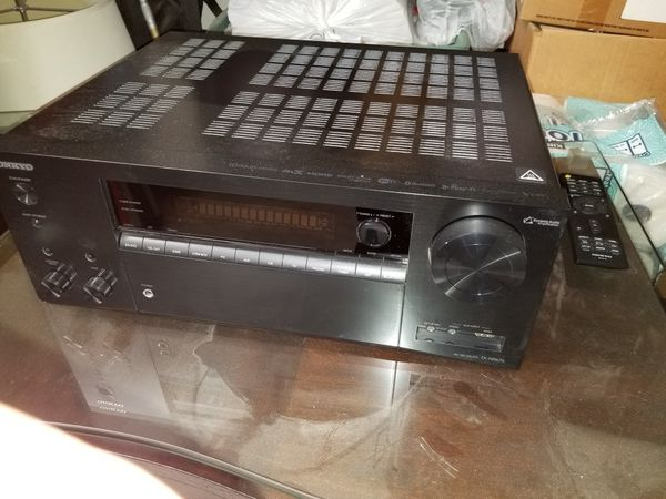 Onkyo receiver with remote
