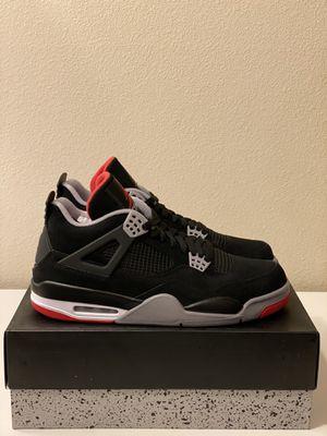 "Air Jordan 4 Retro ""Bred"" Size 12 for Sale in San Diego, CA"