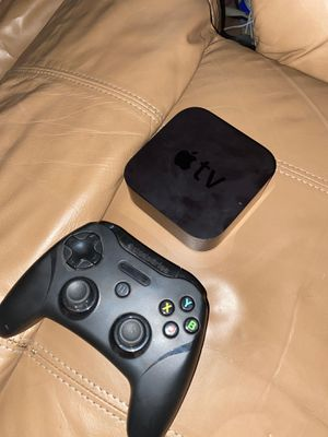 Apple TV and steel series controller for Sale in Colton, CA