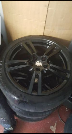 20s factory oem Porsche panamera wheels and tires for Sale in The Bronx, NY