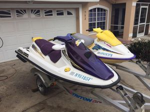Seadoos and trailer for Sale in Lake Alfred, FL