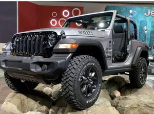 """17"""" Jeep Wrangler Willys Edition Wheels Rims Tires Rines 2020 NEW for Sale in Inglewood, CA"""