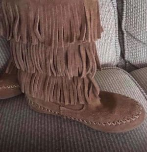 Girls fringe boots for Sale in Morrisville, PA