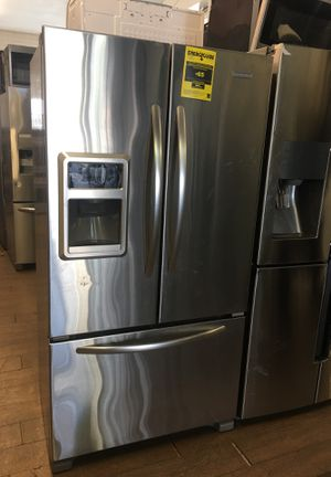 Kitchen Aid Bottom Freezer Fridge for Sale in South Gate, CA
