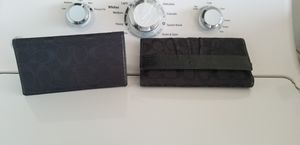 Coach wallet and check book cover for Sale in Baytown, TX