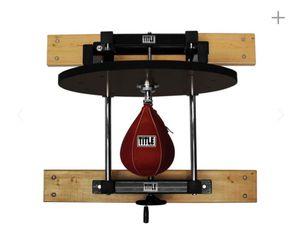 Title Boxing Precision Adjustable Speed Bag Platform for Sale in Lake Stevens, WA