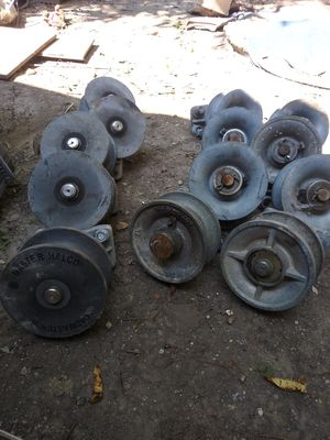 Gate Rollers . 5 nylon 8 cast roller. 250.00 .Great deal for Sale in Indianapolis, IN