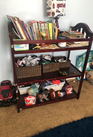 Changing table/bookshelf for Sale in Brentwood, CA
