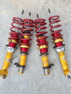 Civic integra Koni adjustable shocks and Eibach ground control Coilovers eg dc for Sale in Santa Ana, CA