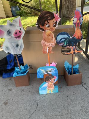 Baby Moana party decorations for Sale in Corona, CA