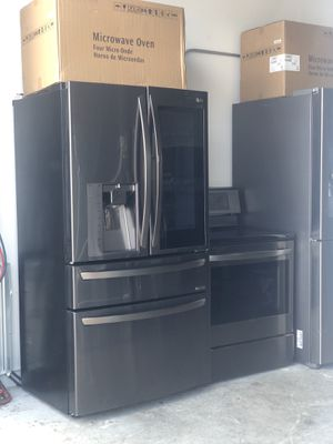 LG Black Stainless Steel Kitchen set for Sale in Tampa, FL