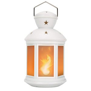 Decorative Lanterns Battery Powered LED, with 6 Hours Timer,Indoor/Outdoor,Lanterns Decorative for Wedding,Parties,White-1pc for Sale in Santa Ana, CA