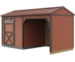 Custom Loafing Shed for Sale in Escondido, CA