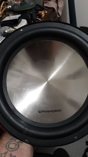 """Pheoenix gold 12"""" 400w subwoofer for Sale in Tacoma, WA"""