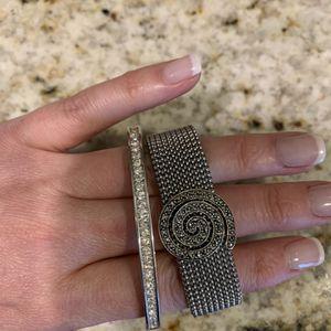 Swarovski crystal bracelet and Judith Jack bracelet for Sale in Hauppauge, NY