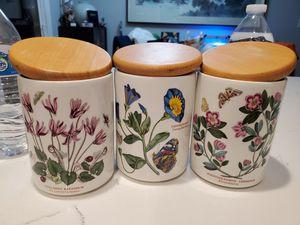 Beautiful jar set $7.00 for Sale in Montclair, CA