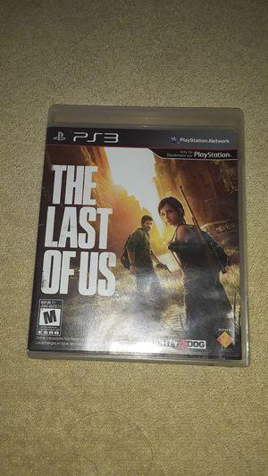 The Last of Us PS3 for Sale in San Bernardino, CA