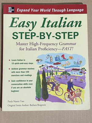 Step by step Italian book for Sale in Cambridge, MA