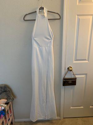 White formal prom dress for Sale in Riverside, CA