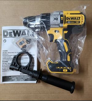 Dewalt 20V XR Hammer Drill DCD996. Tool Only. for Sale in Chicago, IL