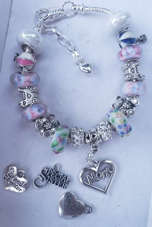 Netural mom to be charm bracelet 1 for $15 or 2 for $25 for Sale in Baltimore, MD