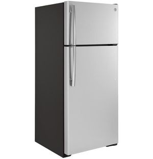 Gte18gsnrss – Ge® Energy Star® 17.5 Cu. Ft. Top-freezer Refrigerator for Sale in Portland, OR