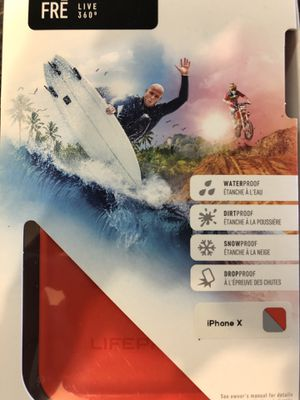 Lifeproof case for iPhone X for Sale in Newburgh, IN