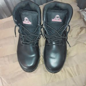"NEW! ""Brama"" Black work boots size 13 for Sale in Sebring, FL"