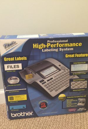 NEW Brother Label Maker PT-2710 for Sale in Gainesville, VA