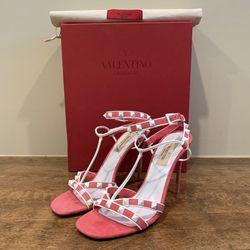 VALENTINO Garavani 'Free' Rockstud Heeled Sandals for Sale in Linden,  NJ