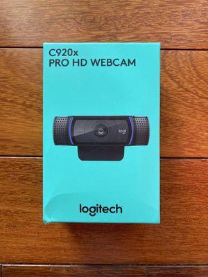 Logitech C920X Pro HD Webcam - New for Sale in Rockville, MD
