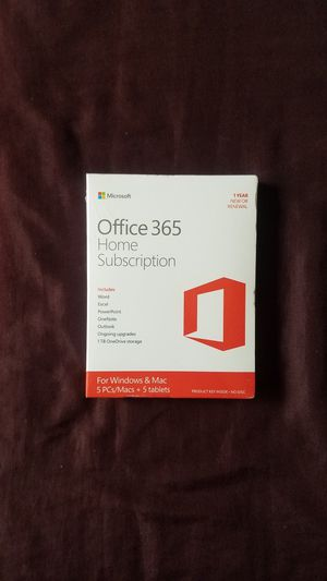 New Office 365 home subscription. for Sale in Phoenix, AZ