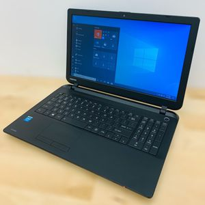 """Toshiba 15.6"""" laptop / Windows 10 / Camera / HDMI / WiFi / Antivirus / Charger for Sale in Fort Lauderdale, FL"""