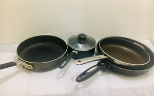 Pot and pans, fryer pans, high end for Sale in Seattle, WA