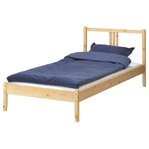 IKEA Twin Bed Frame with Slats, LinenSpa Mattress and 3inch Mattress Topper for Sale in Carson, CA