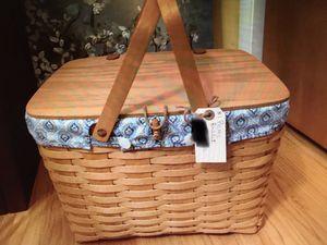 Longaberger picnic basket for Sale in Englewood, FL