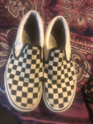 Low top checker board vans for Sale in Nashville, TN